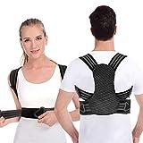 Anoopsyche Corrector de Postura para Hombre y Mujer, Transpirable Chaleco para la Espalda para Dolor...