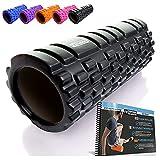 Foam Roller - Rodillo de espuma para masaje muscular (Libro de ejercicios incluido) diseño de...